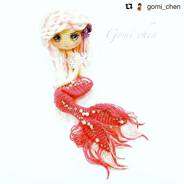 #Repost @gomi_chen with @repostapp・・・人魚Ava @lydiawlc ,終於能夠擁有一隻人魚,謝謝@lydiawlc 讓我夢想成真❤️