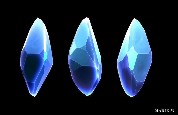 Final Fantasy Inspired Crystal on Behance