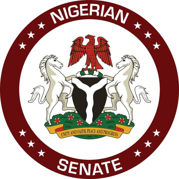 Brasão do Senado da Nigéria. Seal of the Senate of Nigeria.