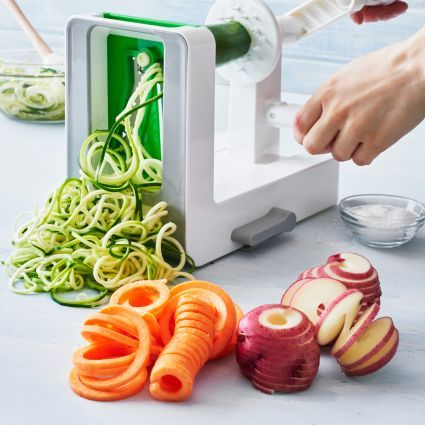 oxo kitchen supplies the latest gadgets tabletop spiralizer sur la table recipes pinterest and