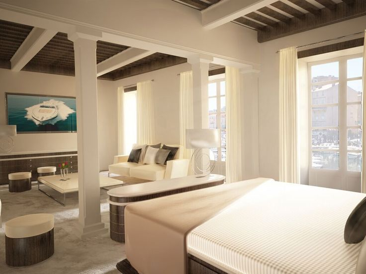 eric arnoux real estate presents sube hotel a luxurious property located in st tropez - Beaded Inset Hotel Decoration
