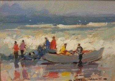 Boat At Sea  - Marais Wessel