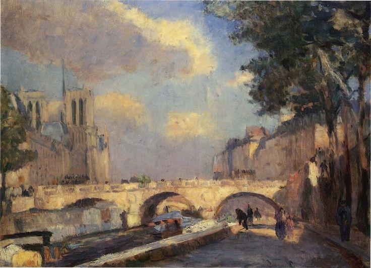 Albert Lebourg 1849-1928 French painter