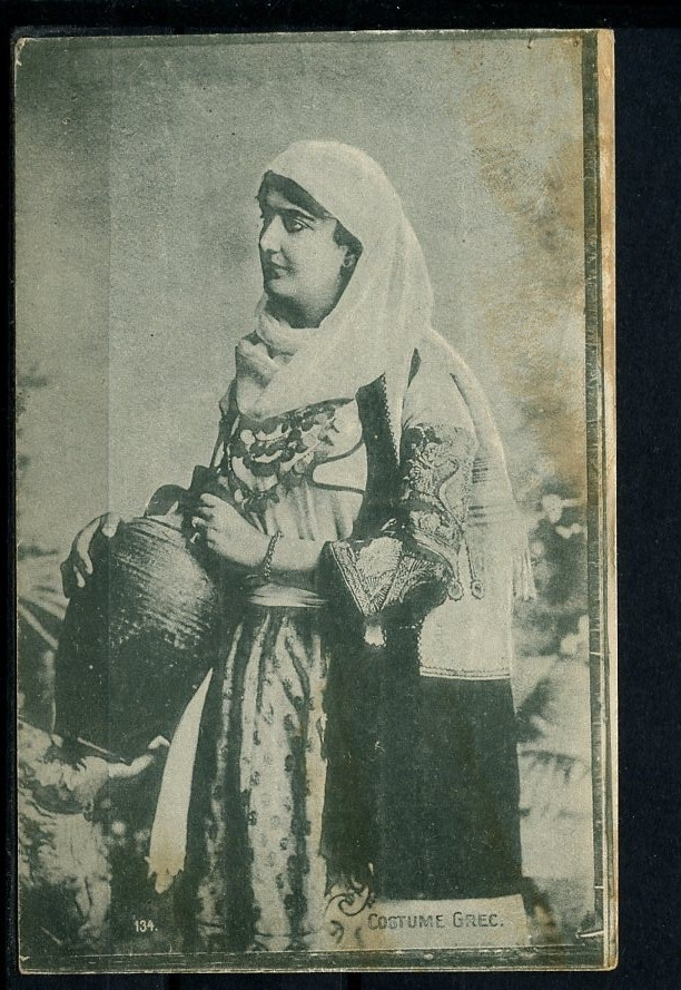 www.villsethnoatlas.wordpress.com (Grecy, Greeks) 1916 Postcard, Greece Greek Costume Types | eBay