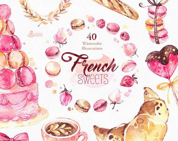 Dit is een Franse collectie van snoep bevat 40 handbeschilderd aquarel beelden. Perfecte afbeelding voor diy projecten, merkidentiteit, uitnodigingen, kaarten, logos, fotos, affiches, wallarts, citaten, diy en meer. ----------------------------------------------------------------- INSTANT DOWNLOAD Zodra de betaling is verwerkt, kunt u uw bestanden downloaden rechtstreeks vanuit uw account Etsy. ----------------------------------------------------------------- Deze aanbieding omvat: 40 x ...