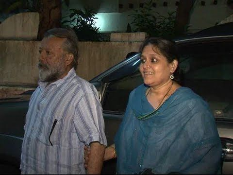 Shahid Kapoor's parents at the screening of TERI MERI KAHAANI.