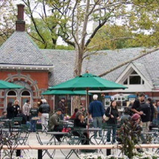 Tavern on the Green- Central Park New York City   We ate here and than went on a carriage ride through the park.