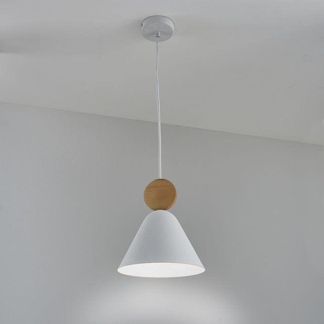 suspension bois et m tal cotapi la redoute interieurs. Black Bedroom Furniture Sets. Home Design Ideas