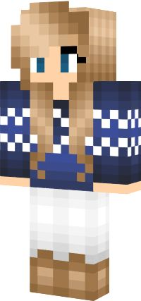 Winter Girl - NovaSkin gallery - Minecraft Skins