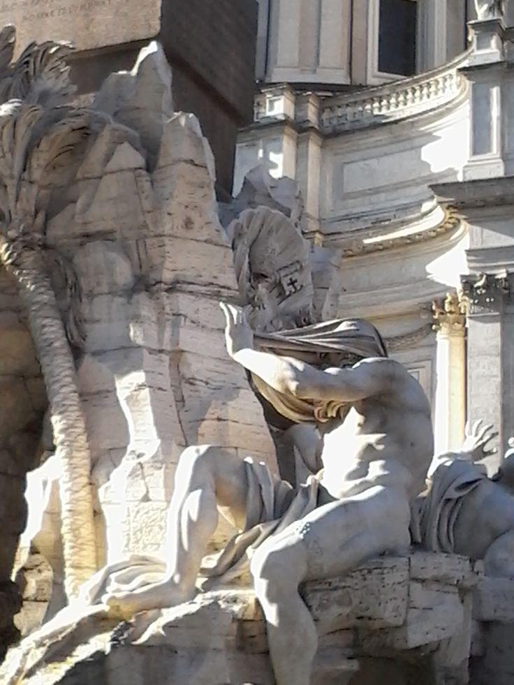 El Nilo Fuente de los cuatros rios Piazza Navona