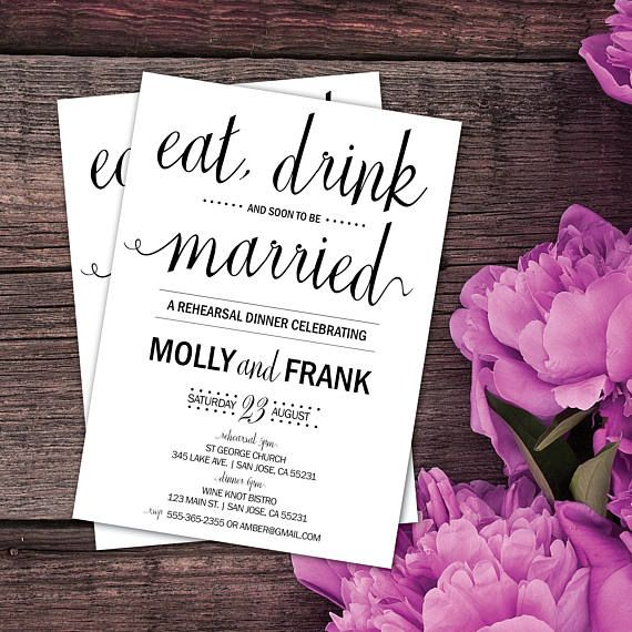 The 25+ best Rehearsal dinner email invitations ideas on Pinterest - email invitations