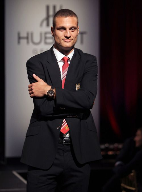 Nemanja Vidić (Serbian Cyrillic: Немања Видић) (born 21 October 1981) is a Serbian footballer who captains English Premier League club Manchester United. He was part of the Serbia national football team from 2002 to 2011.