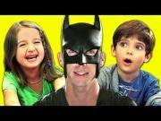 #Funny Kid's Reaction To #BatDad - #Batman