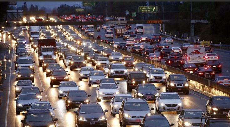 L.A.'s traffic congestion is world's worst for sixth straight year, study says