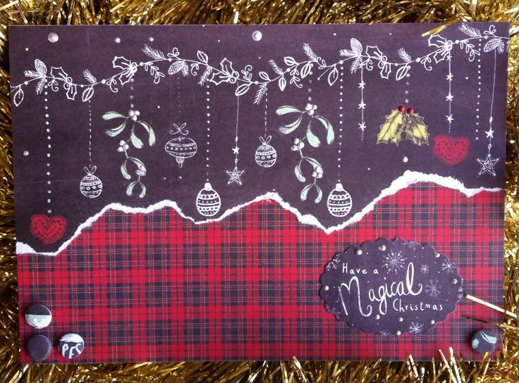 Craftwork Cards: Festive Chalkboard
