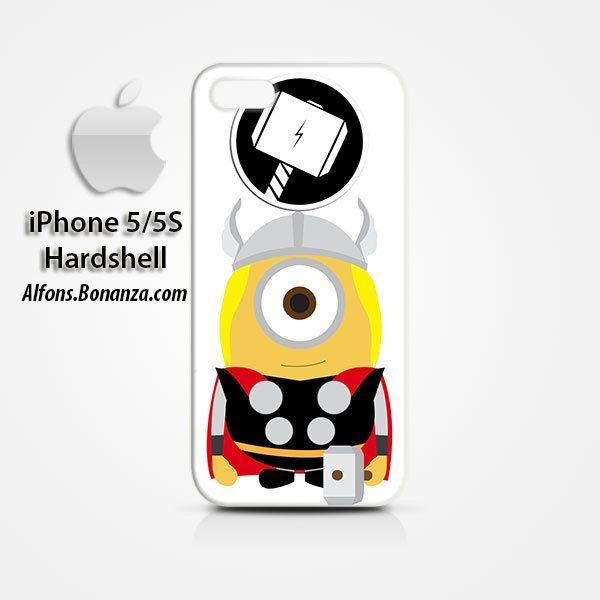 Thor Minions iPhone 5 5s Hardshell Case