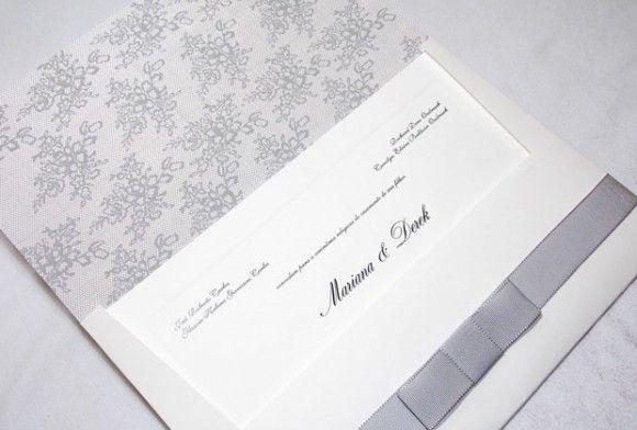 Convites lindos de casamento!