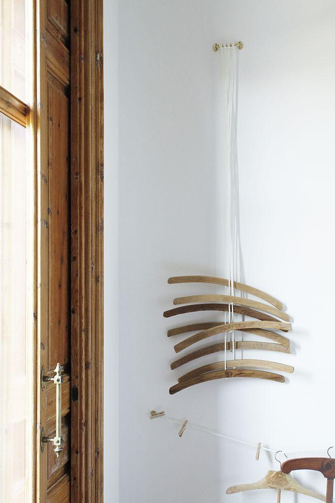 hang some hanger in the guest room or dressing room. yök casa + cultura barcelona wall hangers. appendere grucce nella stanza degli ospiti o nel guardaroba #guessroom #dressingroom