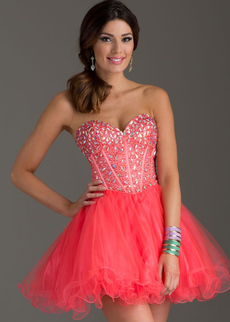 Clarisse 2461 Short Ball Gown  VIP Girls  Quince Court