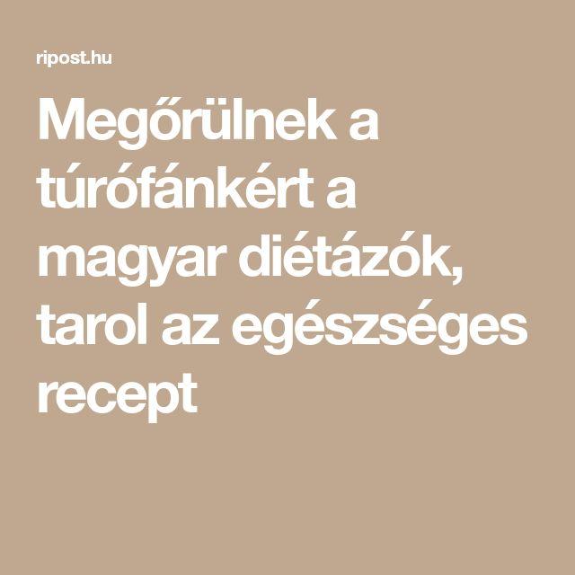 Megőrülnek a túrófánkért a magyar diétázók, tarol az egészséges recept