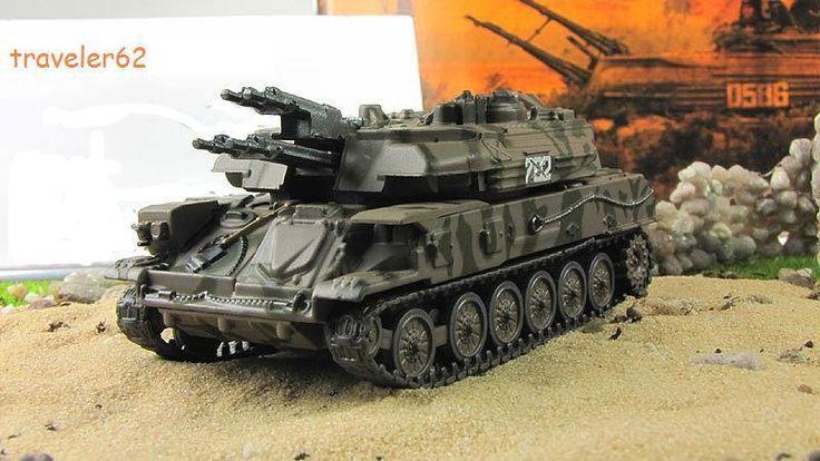 """ZSU-23-4 """"Shilka""""1:72 by Fabbri  anti-aircraft self-propelled mount camouflage  #Fabbri"""