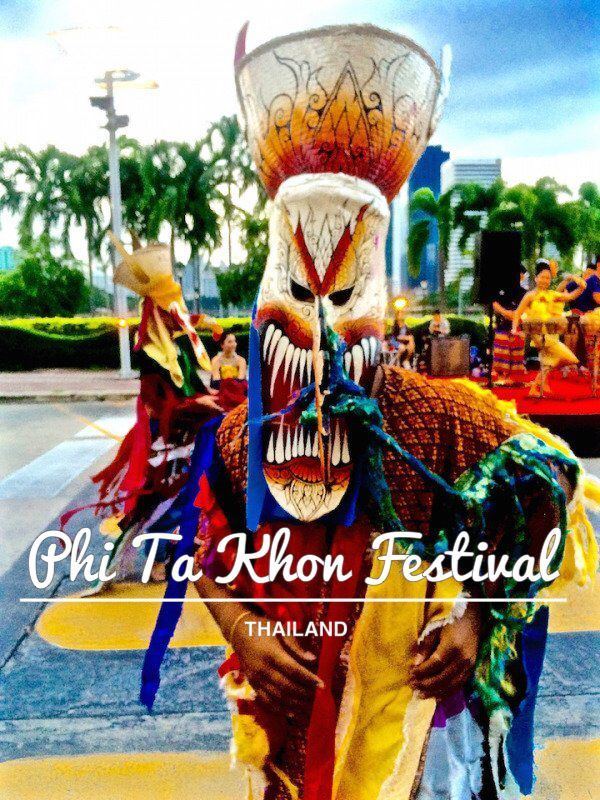 Read all about the ghosts and ghouls of Thailand at the Phi Ta Khon Festival - Hauteculturefashion.com