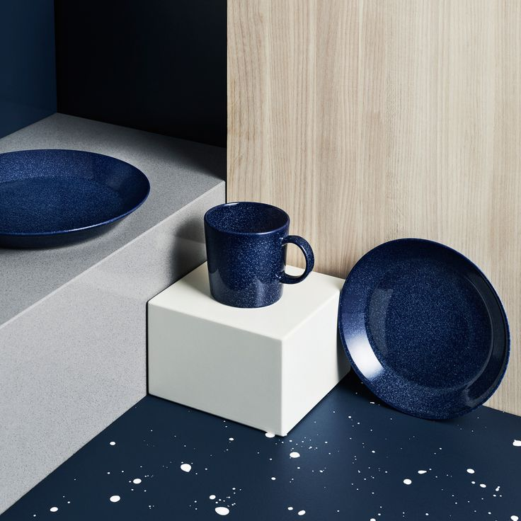 iittala Teema Dotted Blue Dinnerware - New Arrivals