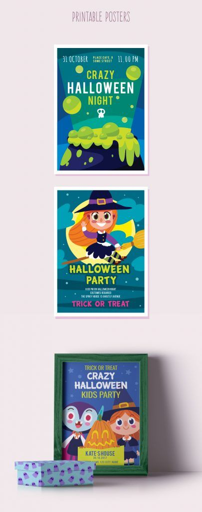 Halloween Freebies for Designers 2017