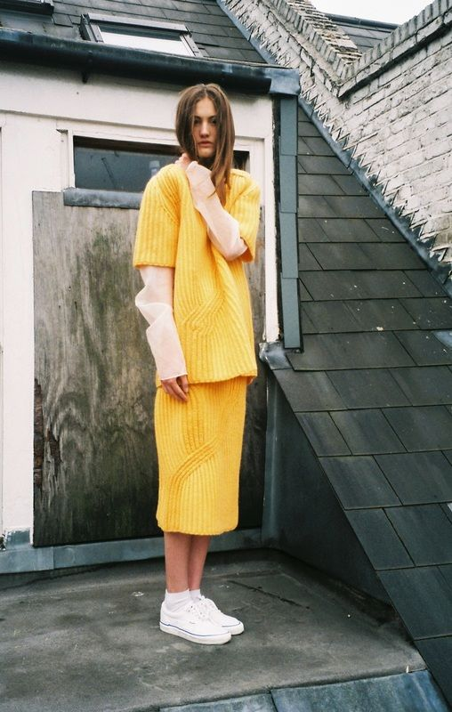 POST ー Annelise Armitage's clothing makes us reminisce our adolescence and pine for the imagination we had as children.  → http://pitch-present.com/ANNELISE-ARMITAGE ←