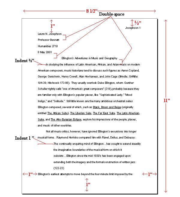 How to Format Essay Using MLA Style