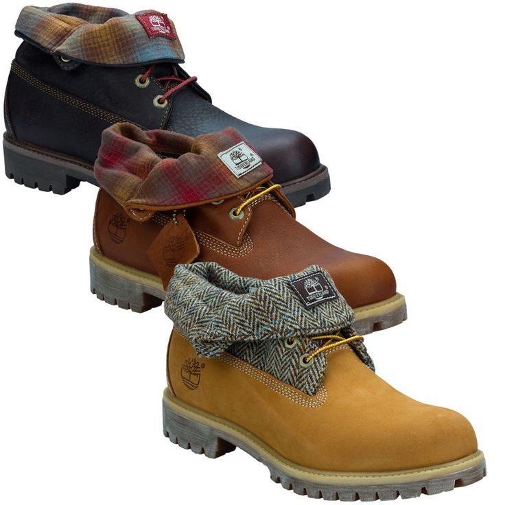 mens timberland roll top af boots