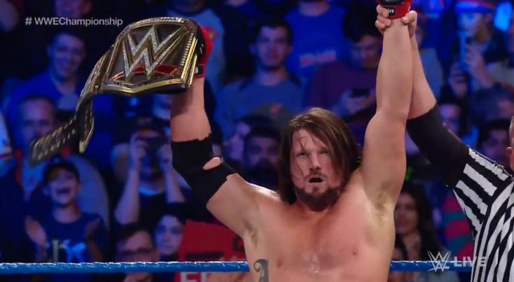 AJ Styles Retains The WWE Championship On SmackDown, Title Match Set For The Royal Rumble