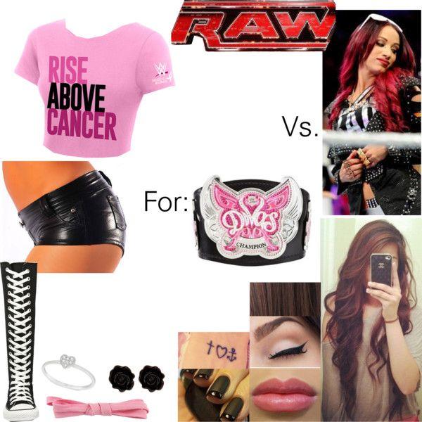 Raw: Bela Vs. Sasha Banks for the WWE Diva's Championship