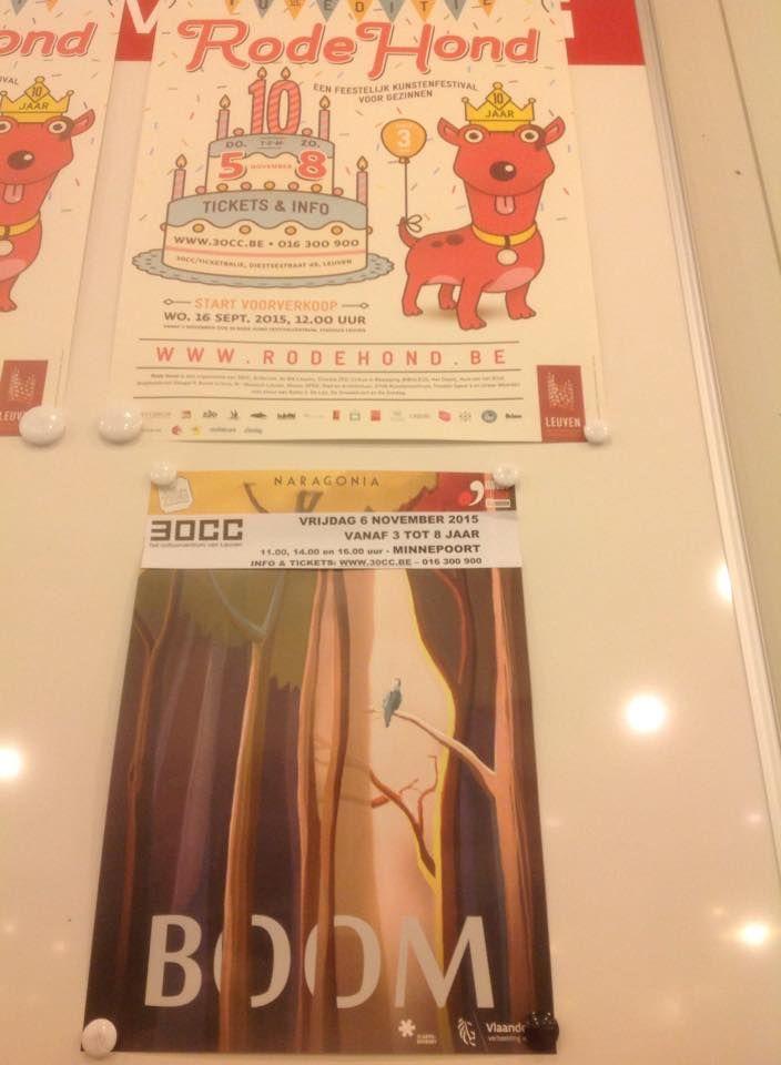 BOOM (3+) op Rode Hond (30CC, Leuven)
