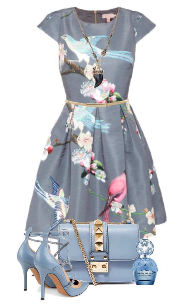 """""""Estampat"""" by nuria-pellisa-salvado ❤ liked on Polyvore featuring Ted Baker, Valentino, Topshop, Vivienne Westwood, GetTheLook, polyvorecommunity and polyvoreeditorial"""