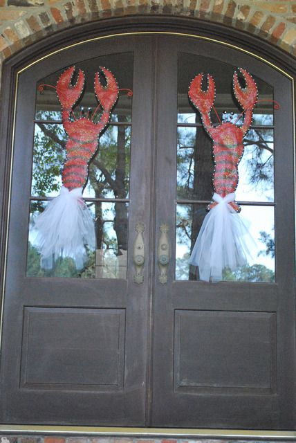 cute for your crawfish party:) @ Kelly Ross