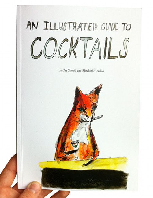 lovely: Foxes Illustrations, Covers Book, Illustrations Guide, Guide To, Book Covers, Memorial Tables Book, Bar Carts, Cocktails Recipe, Pictures Book