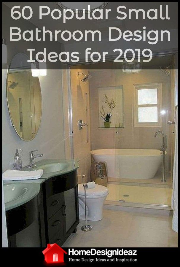60 Most Popular Small Bathroom Design Ideas For 2019 With Images
