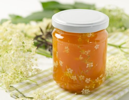 Marillen-Holunderblüten-Marmelade
