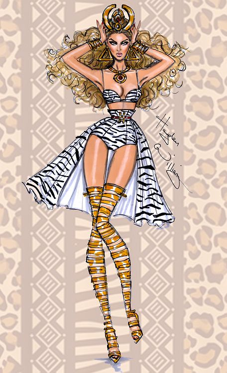 Beyoncé 'Tribal Goddess' by Hayden Williams - Created exclusively for my feature on www.beyonce.com/news Check my feature out here > www.beyonce.com/news/hayden-g-williams