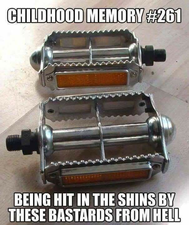 ran my shin down one of these as a kid...still have the scars!!