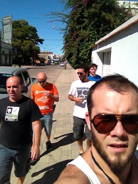 Recorriendo las calles de Uruguay
