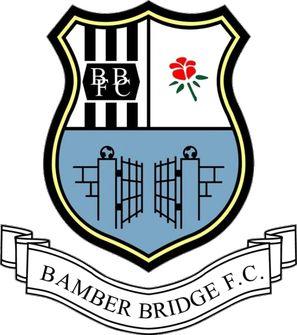 1974, Bamber Bridge F.C. (England) #BamberBridgeFC #England #UnitedKingdom (L16359)