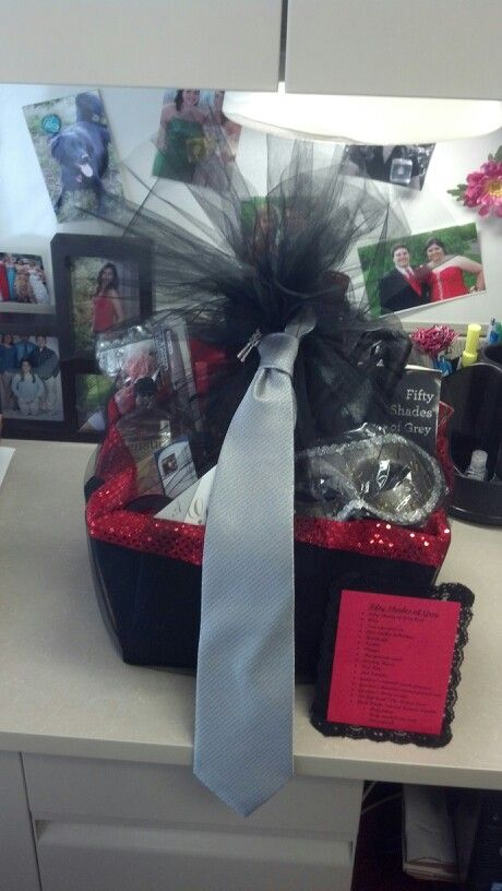 Fifty Shades Of Grey Gift Basket Gift Baskets For Him