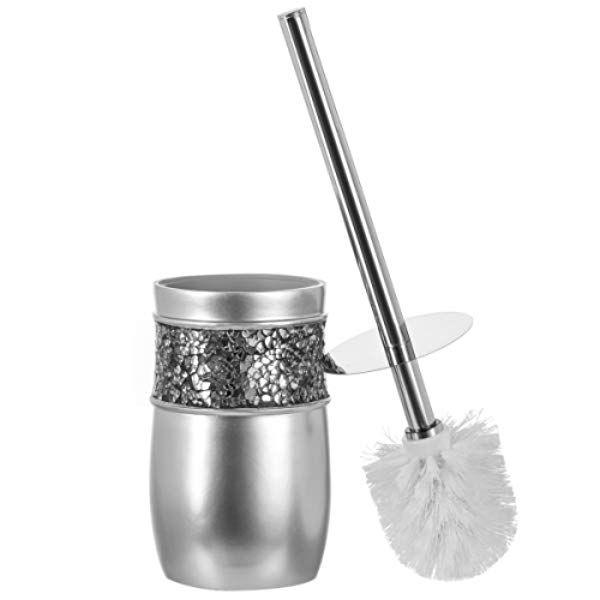Creative Scents Bathroom Toilet Brush Set Good Grip Toilet Bowl Cleaner Brush And Holder Decorative Design Toilet Bowl Toilet Bowl Cleaner Bathroom Toilets