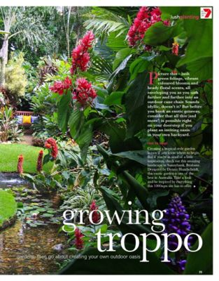 22 best Tropical gardens in temperate climates images on Pinterest