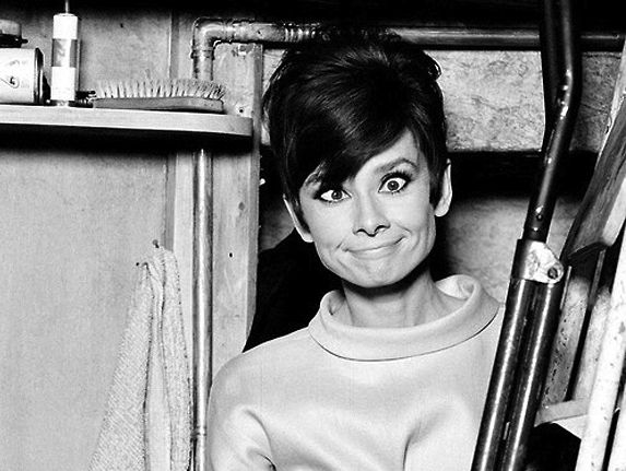 "When asked what she believed in, Audrey Hepburn had this to say, ""I believe in pink. I believe that laughing is the best calorie burner. I believe in kissing, kissing a lot. I believe in being strong when everything seems to be going wrong. I believe that happy girls are the prettiest girls. I believe that tomorrow is another day and I believe in miracles."""
