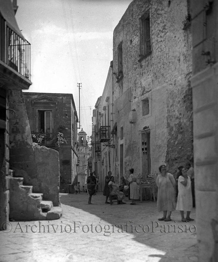 """Naples chat - Napoli, Casale di Posillipo """"inciuci con la capera"""" Fondo Troncone  1929"""
