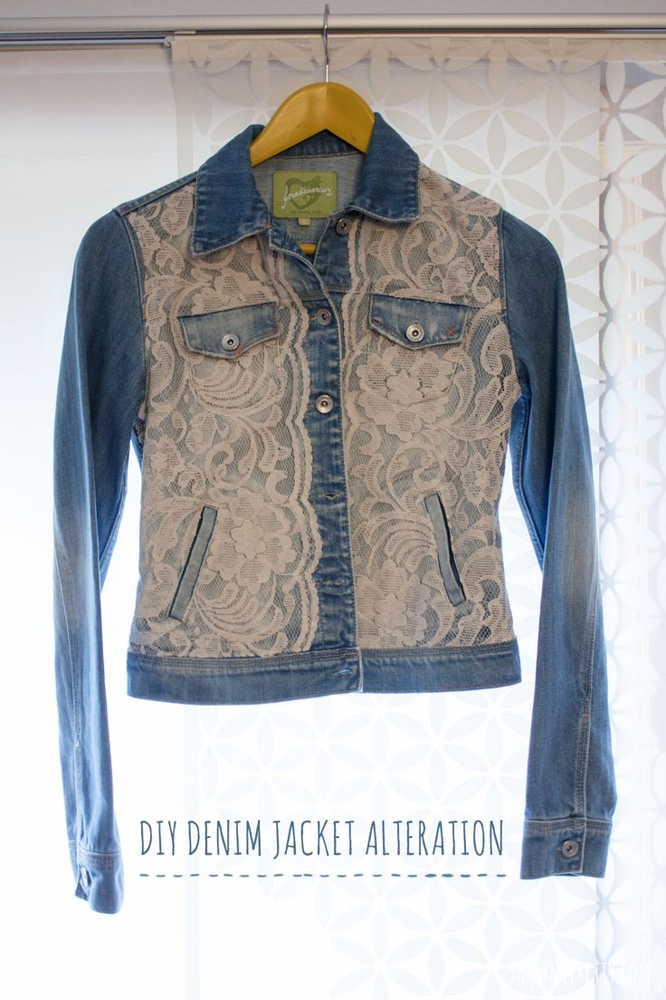Show me Pretty | DIY Denim Jacket Alteration | http://www.showmepretty.com