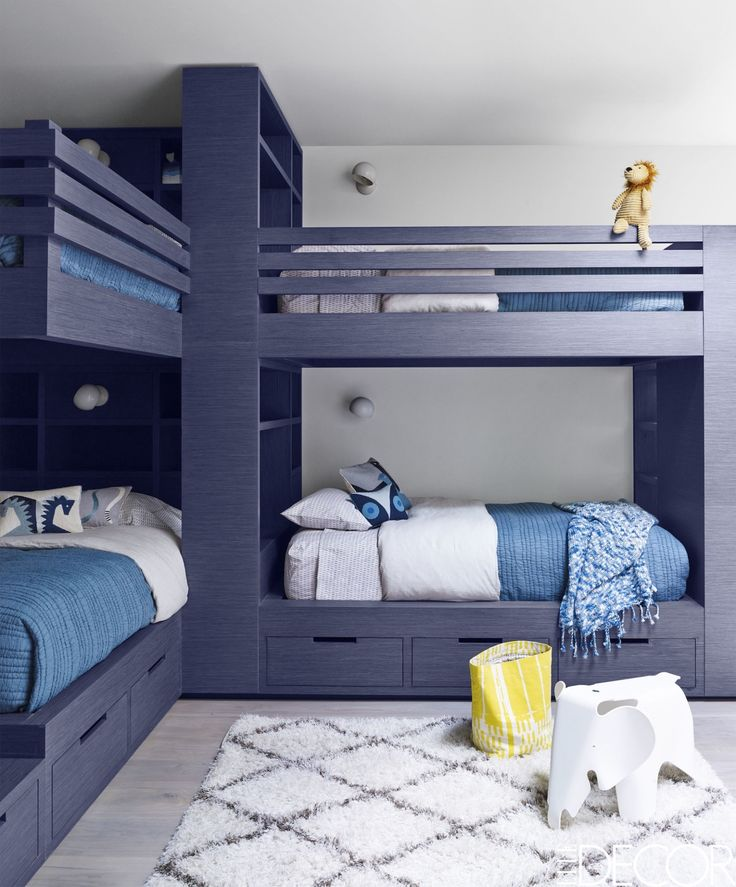 27 Blue Bedrooms That Will Make You Want To Redecorate Right Now. Bunk  RoomsBoy ... Part 90